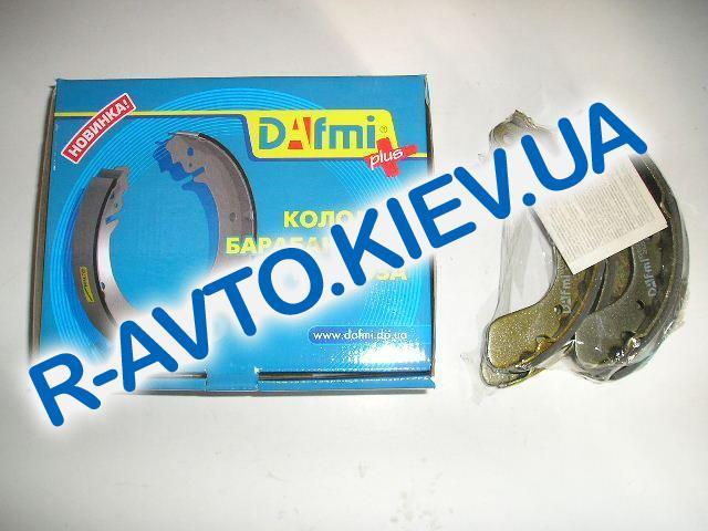 Колодки задние тормозные Aveo Dafmi ДА190, к-т (в уп-ке)