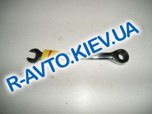 Ключ рожково-накидной Inter Tool с трещеткой  8 мм (XT-1308)