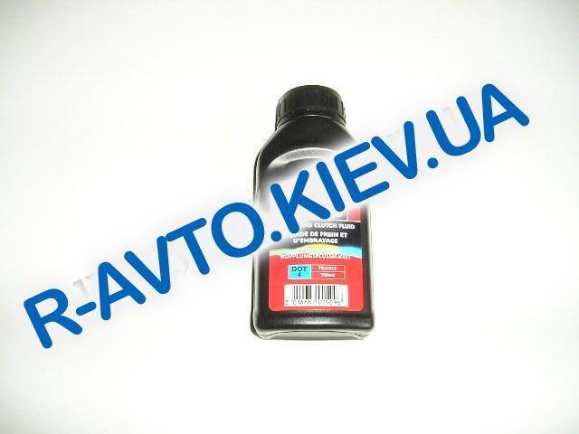 Тормозная жидкость FERODO DOT-4 0,25 л. (FBX025)