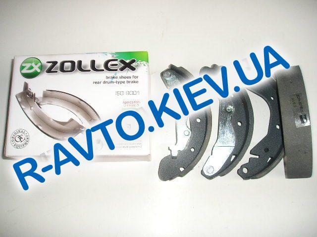 Колодки задние тормозные Aveo Zollex (Z5010B), в уп-ке