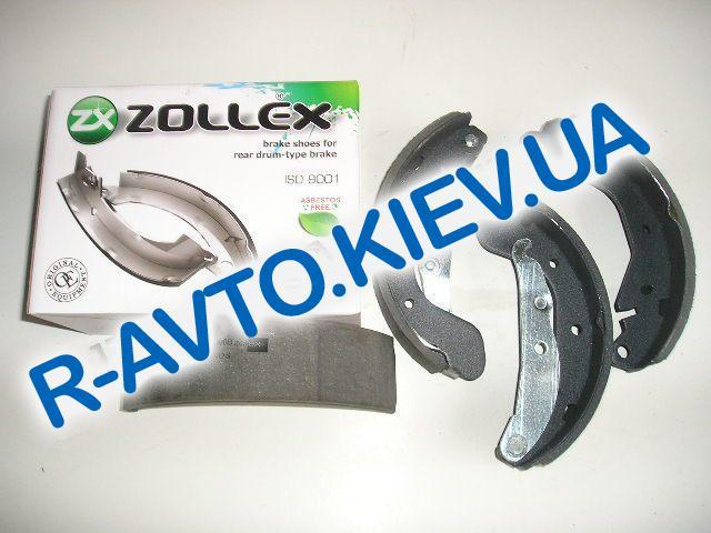 Колодки задние тормозные Lanos Zollex (Z5000B), в уп-ке