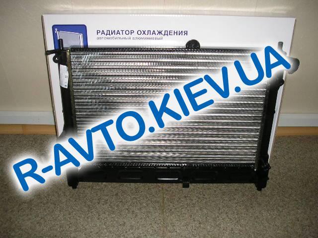 Радиатор охлаждения Lanos (без конд.) Лузар,(ТФ 69) (LRc0563)(кругл. штыри)
