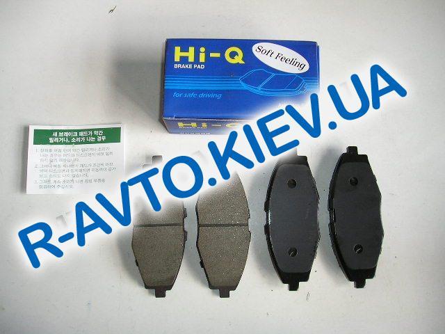 Колодки передние тормозные HI-Q (Корея) Lanos 1.6 (SP1077), к-т (в уп-ке)