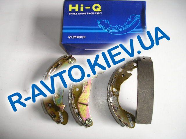 Колодки задние тормозные Aveo (SA129) HI-Q (Корея), к-т (в уп-ке)
