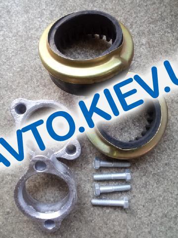 Проставки под задние амортизаторы Aveo (2 прост.+2 подушки+2 чашки+4 болта), Харьков