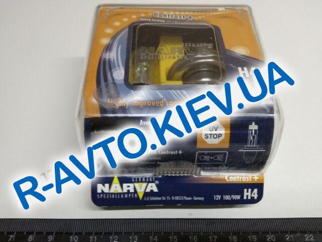Лампа NARVA TWIN SET H4 12V 1009043 Contrast 98652 пара
