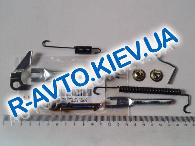 Ремкомплект задних тормозных колодок Lanos (пружинки) Корея лев. к-т. (96395381)