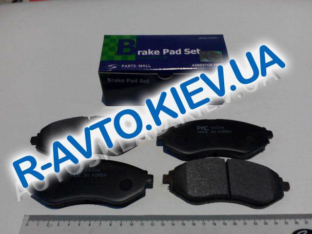 Колодки передние тормозные PMC (Корея) Aveo (PKC-015), в уп-ке