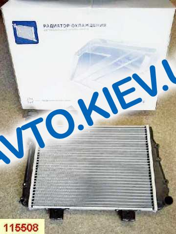 Радиатор аллюм. Лузар, ВАЗ 21043 инж.  SPORT, в упаковке (LRc01073b)