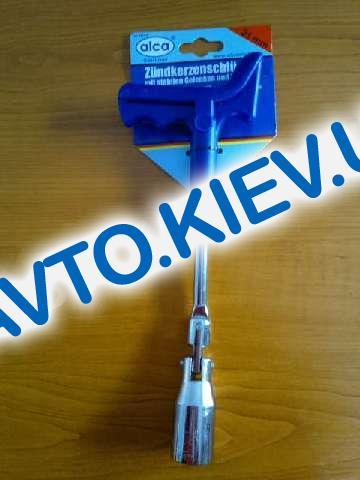 """Ключ свечной х21 """"Alca"""" (421210) с ручкой, усиленный"""