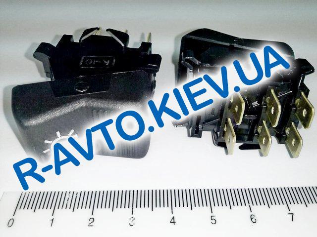 Включатель-клавиша света ВАЗ 2103 (6 конт.), Автоарматура (П147.04.29)