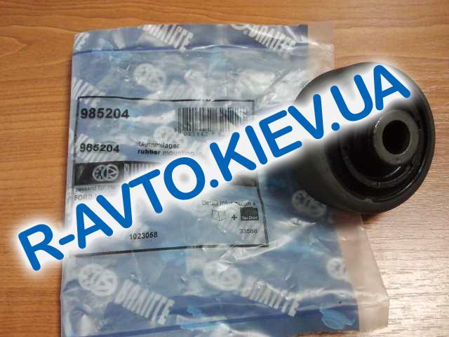 Сайлентблок переднего рычага (задний) Aveo (FORD), RUVILLE (985204)