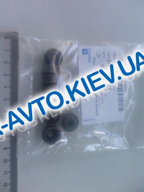 """Сальник клапанов Aveo 1.5, """"GM"""" Корея (96229145), (8 шт. в упак)"""