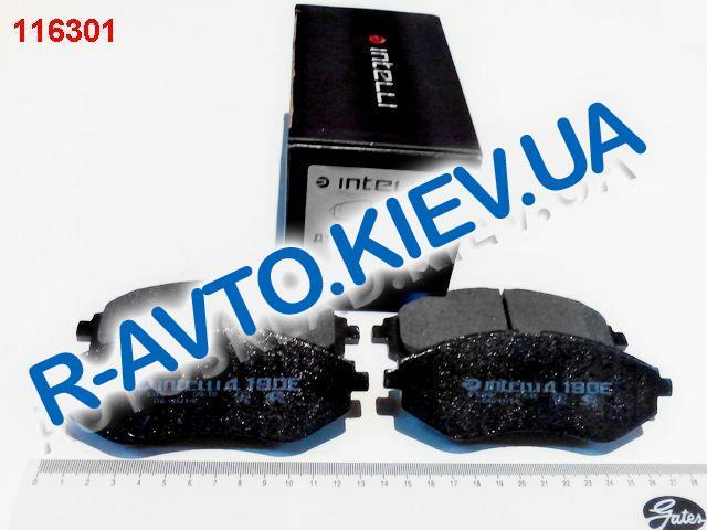 Колодки передние тормозные Dafmi  Intelli Aveo (Д 190Е), в уп-ке