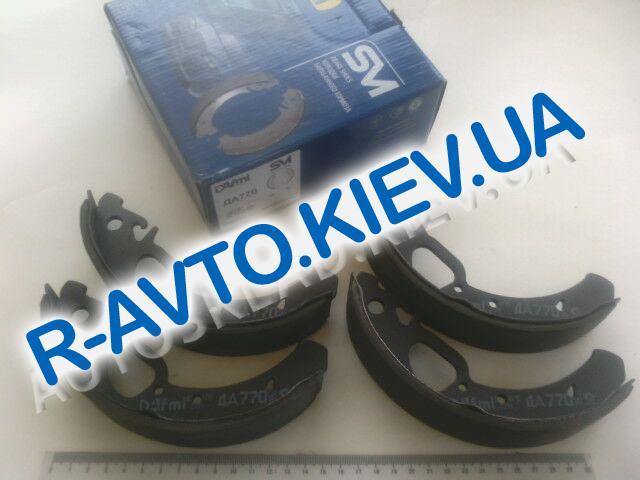 Колодки задние тормозные ВАЗ 1118, 2170 (с ABS) Dafmi (ДА770), в уп-ке