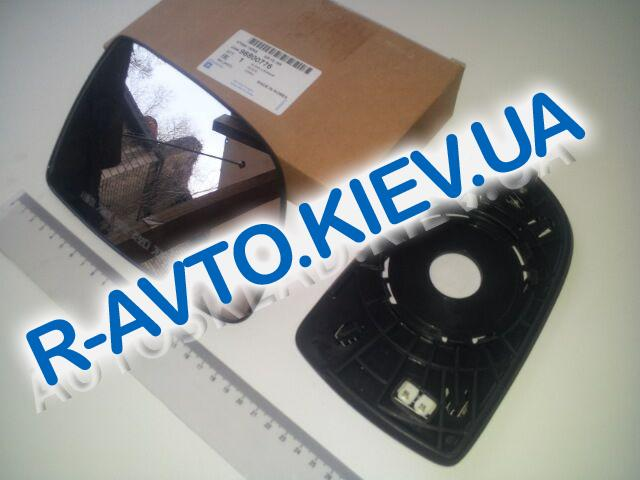 "Зеркальный элемент Aveo ||| правый, ""GM"" Корея (96800780)  эл.+обогр."