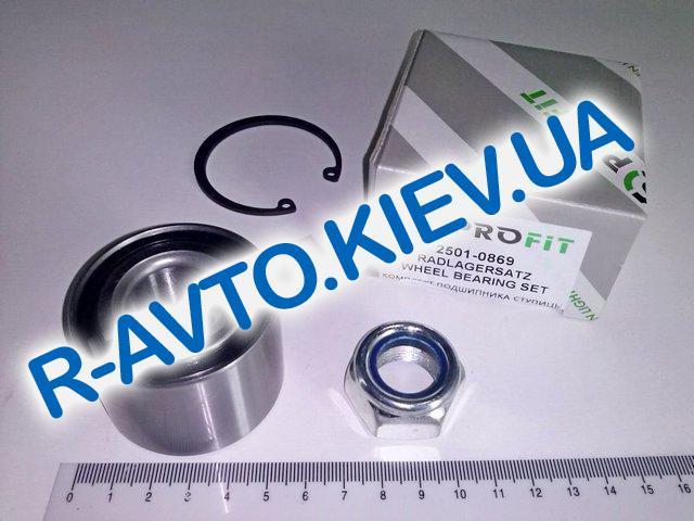 Подшипник ступицы Aveo задний PROFIT (PR 2501-0869) с гайкой