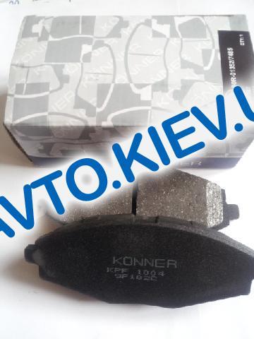 Колодки передние тормозные Konner Lanos 1.5 (KPF-1004), в уп-ке