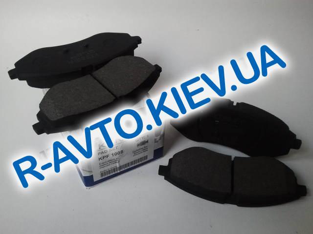 Колодки передние тормозные Konner Aveo (KPF-1008), в уп-ке