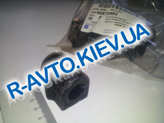 """Втулка переднего стабилизатора Aveo, """"GM"""" Корея (96870462) ф 18 мм"""
