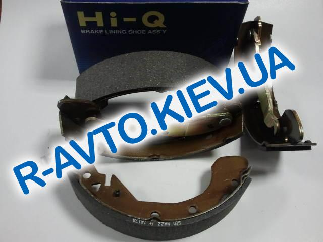 Колодки задние тормозные Tacuma HI-Q (Корея) (SA103), к-т (в уп-ке)