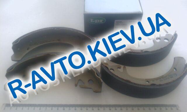 """Колодки передние тормозные """"LPR"""" Aveo (05P1080)"""