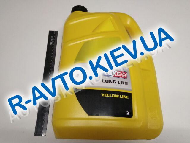 Антифриз LUXOIL YELLOW LINE G13 (-40) (желтый) 5 кг.