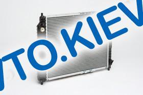 Радиатор аллюм. Лузар, Aveo автомат (алюминиево-паяный)(без конд.)(LRc CHAv05224) (L=480)