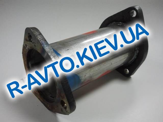 Труба, вместо катализатора Aveo Запорожье вертикальный (короткий, широкий)