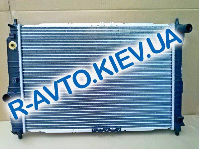 Радиатор аллюм. Лузар, Aveo автомат (алюминиево-паяный)(с конд.)(LRc CHAv05226) (L=600)