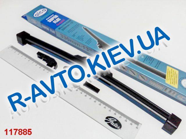 """Щетка ст-ля """"ALCA"""" SUPER FLAT 330-13"""", (043) без корпуса (ресничка) 1шт."""