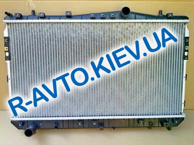 Радиатор охлаждения Lacetti аллюм. Лузар, Lacetti (алюминиево-паяный)(LRc CHLt04178) МКПП