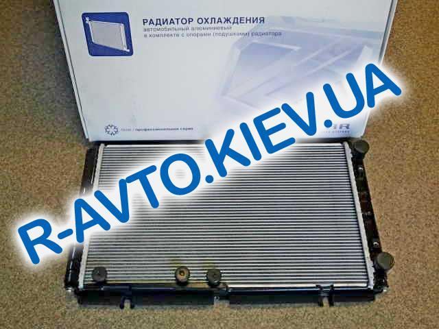 Радиатор аллюм. Лузар, ВАЗ 1118 с конд. (алюминиево-паяный) (LRc 01182b)