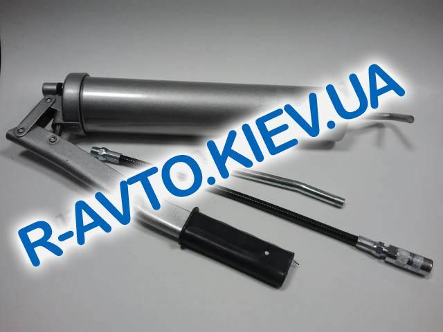 Шприц заправочный для смазки Inter Tool (HT-0063) 500 м3 (две насадки)
