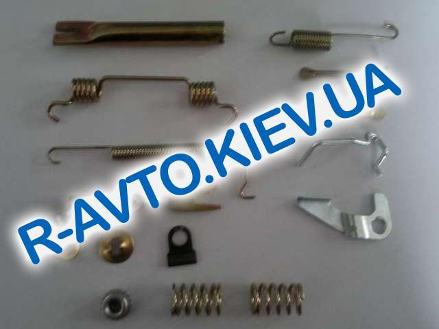 Ремкомплект задних тормозных колодок Aveo (пружинки) Китай прав. к-т. (96456495)