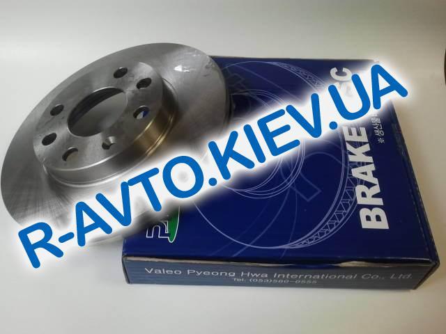 Диск тормозной Lanos 1.5 VALEO, 1 шт (R3002)