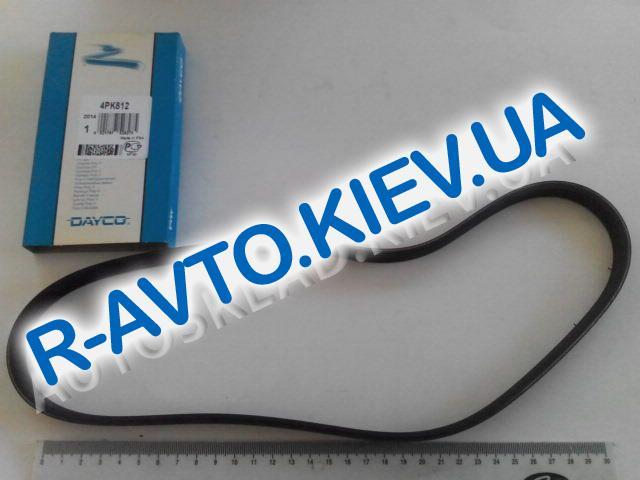 Ремень генератора ручейковый DAYCO ВАЗ 2123, 4PK812 с конд.