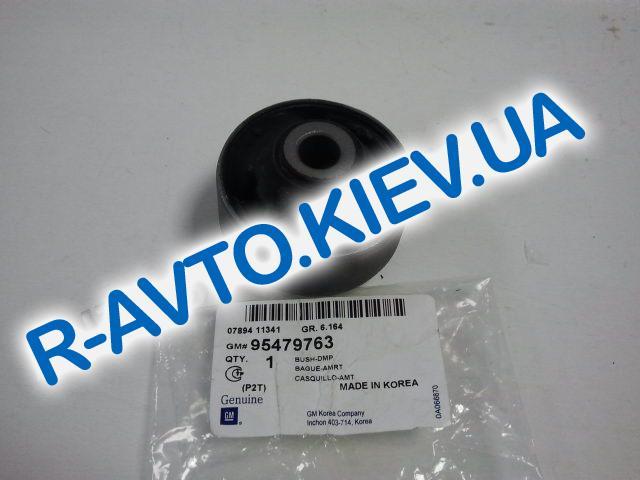Сайлентблок переднего рычага задний Aveo GM Корея 95479763 с прорезями