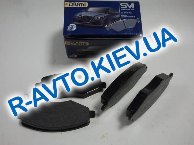 Колодки передние тормозные Dafmi  SM Amulet Д 216 CM в упке