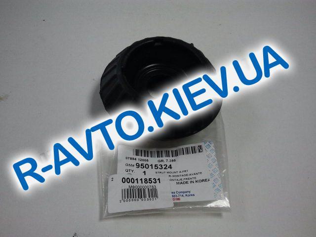 """Опора передней стойки Aveo, """"GM"""" Корея без подш. УСИЛЕННАЯ (95015324)"""