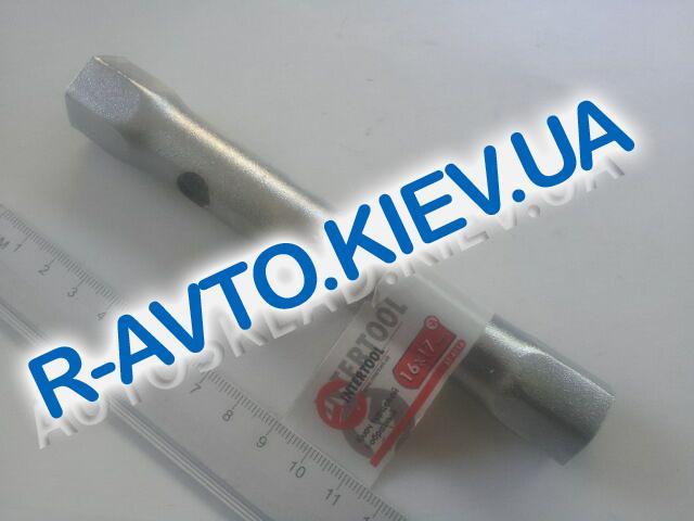 Ключ трубчатый 16х17 мм Inter Tool (XT-4116)