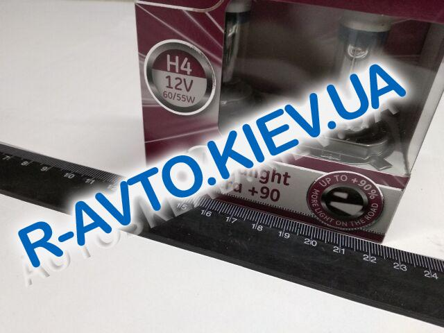 Лампа General Electric H4 12V 60|55-43 Megalight Ultra  +90% (50440SXU.2D) пара