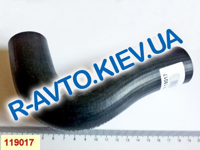 Патрубок радиатора Aveo 1.6 верхний с конд., Корея (96536532)