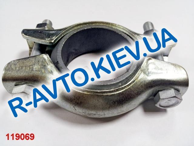 Хомут глушителя ВАЗ 2108 ЗАВОД стар. обр. (кольцо металлокерамика)