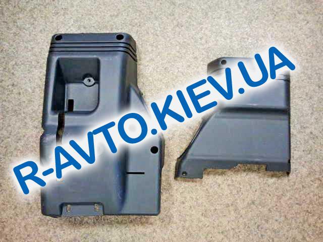 Кожух рулевого вала ВАЗ 2110, Сызрань (верхний+нижний)
