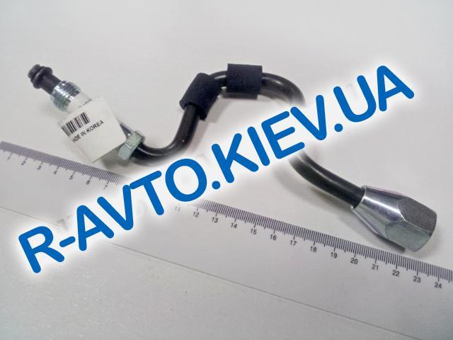 Патрубок ГУР Lanos 1.6 высокого давления от насоса, Корея (96395078|96246615)