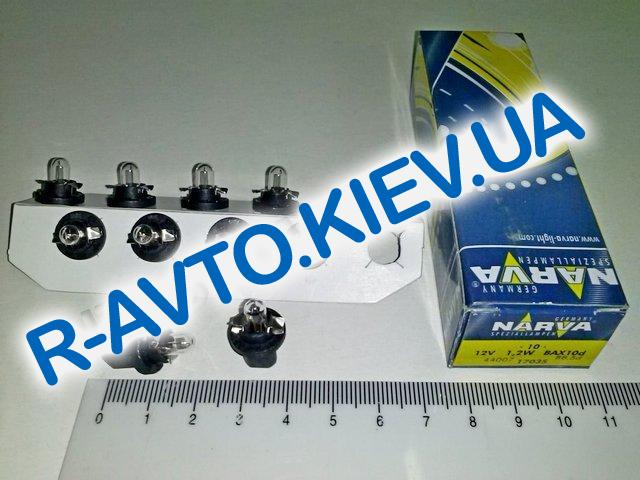 Лампа бесцокольная NARVA 12|1,2 с патроном (17035) (10 шт. в уп.)