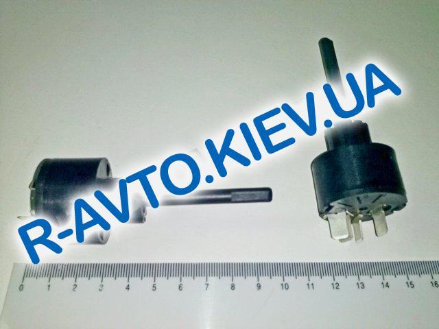 Переключатель печки ВАЗ 2108, Псков (63.3709) голый