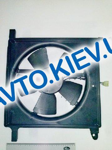 Диффузор радиатора Nexia с мотором, Корея (96353136)