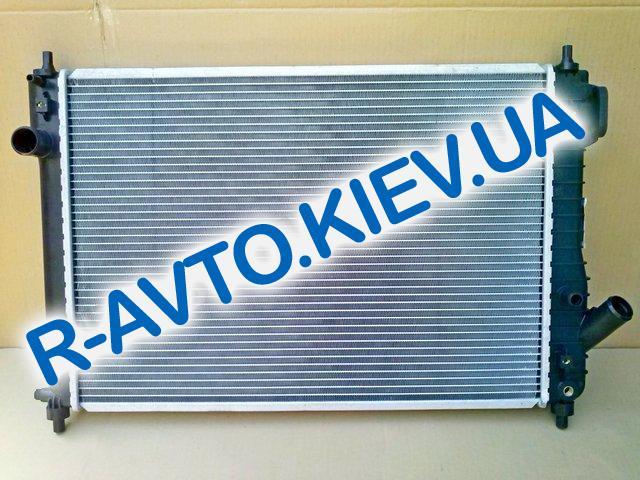 Радиатор охлаждения VIDA Aveo с 2010 г. (АКПП), Лузар (алюм-паяный)(LRc 0581) L=600